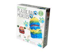 NIB Toysmith 4M Enviro Plastic Bag Monster Kit•Create  Enviro Friendly Monster