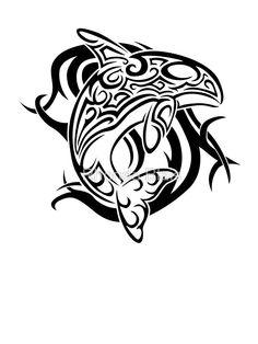 Tribal Orca by Rhonda Blais