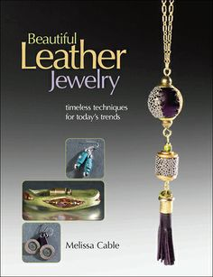 This is leather jewelry like you've never seen before! $21.99