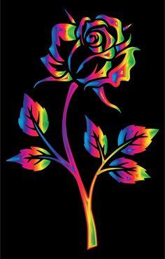 By Artist Unknown. Flower Phone Wallpaper, Neon Wallpaper, Butterfly Wallpaper, Cute Wallpaper Backgrounds, Cellphone Wallpaper, Colorful Wallpaper, Flower Wallpaper, Beautiful Flowers Wallpapers, Beautiful Nature Wallpaper