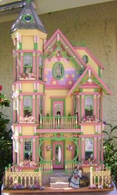 Dollhouse possibilities on pinterest doll houses wooden dollhouse - The dollhouse from fairy tales to reality ...