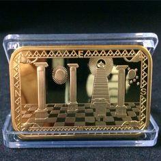 Possto New Wave   Freemasonry Gold ...  http://www.possto.com/products/freemasonry-gold-plated-clad-masonic-symbols-3-pcs-lot?utm_campaign=social_autopilot&utm_source=pin&utm_medium=pin