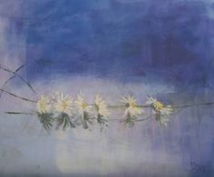 "Saatchi Art Artist Mei Yee Lam; Painting, ""Daisy chain"" #art"