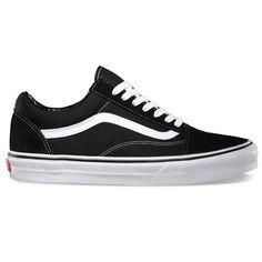 Vans Mens Old Skool Shoes (Black/White) $45.95