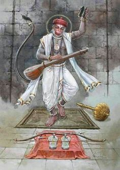 Uncleji is not at all Hanumanji. Because wo aadmi hai. Lord Rama Images, Lord Hanuman Wallpapers, Hanuman Images, Hanuman Pics, Hanuman Chalisa, Durga, Hindu Dharma, Shiva Shakti, Hindu Deities