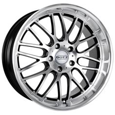 BLACK DIAMOND CUT DOTZ MUGELLO alloy wheels #vw #bmw #audi #alloy #wheels #rims http://www.turrifftyres.co.uk