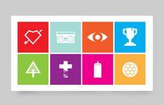 Icons, Badges & Banners by Alex Miranda, via Behance