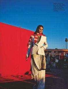 Marrakech La Rouge Marie Piovesan by Serge Leblon for Numéro #153 May 2014