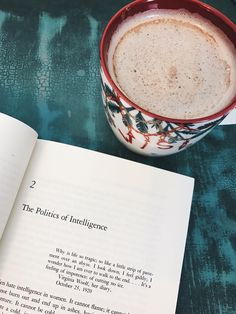 """ablogwithaview: """"A homemade maple cinnamon latte and brushing up on second wave feminism.  """""""