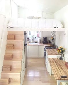47 amazing loft stair for tiny house ideas