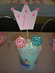 Ali's 1st birthday princess party  Birthday - Princess