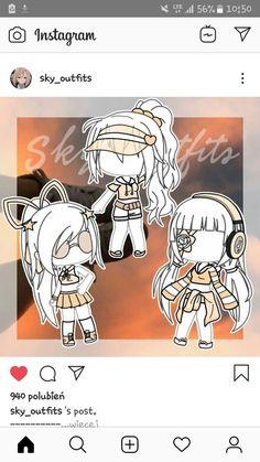 Chibi Kawaii, Kawaii Anime Girl, Bad Girl Outfits, Club Outfits, Kawaii Drawings, Cute Drawings, Character Concept, Character Design, 30 Day Art Challenge