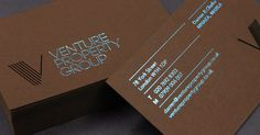 Venture Property Group - Corporate Identity Design on Behance