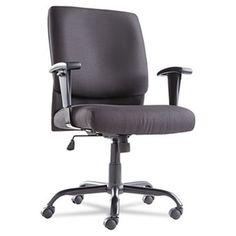 Oif Big and Tall Swivel Tilt Mid-Back Chair