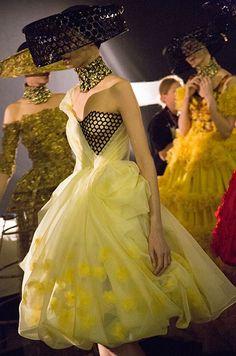 Défilé Alexander McQueen Printemps-été 2013