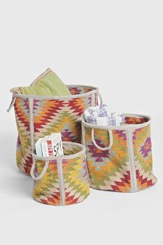 Magical Thinking Kilim Large Storage Bin - Urban Outfitters