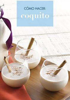 No volverás a comprar rompope después de preparar este riquísimo coquito. #Recetas #Coquito #PuertoRico #Navidad