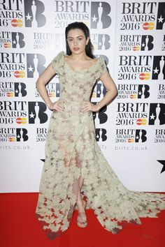 See What Adele, Rihanna, and More Celebs Wore to the 2016 Brit Awards Saint Laurent Paris, Kylie Minogue, Adele, Brit Awards 2016, Rihanna E, Charli Xcx, Red Carpet Looks, Celebrity Style, Celebs