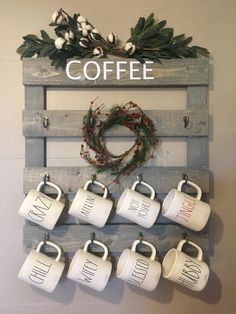 Definitely not the coffee, but the idea would be great in the kitchen