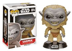This is the Star Wars Force Awakens POP Varmik Bobble Head Vinyl Figure that's produced by the neat folks at Funko. Everyone is super stoked to see the new Star Wars movie and it's great t Tema Star Wars, Star Wars Vii, Star Trek, Figurines D'action, Pop Vinyl Figures, Star Wars Episodio Vii, Chibi, Star Wars Personajes, Funko Toys