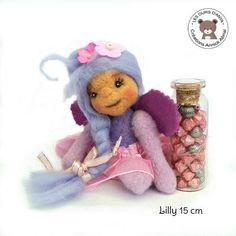 Lilly petite fée miniature - annickabrial.net