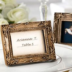 Work Of Art Place Card Holder Wedding Favor- Place Cards & Holders- Wedding- Shop by Occasion - Party America