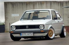 VW Golf Mk1 its first class