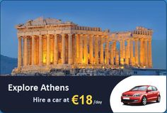Hire a luxury car at at an affordable rate and enjoy your journey to the beautiful city of Airport Car Rental, Athens Airport, Attraction, Greece, Explore, Vacation, City, Journey, Luxury
