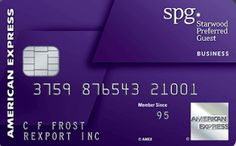 Starwood Preferred Guest Card - American Express