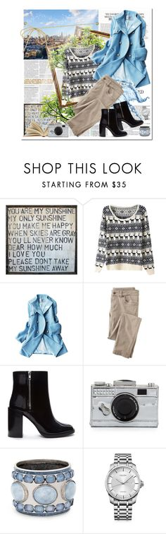 """Deer"" by ladybirdfb ❤ liked on Polyvore featuring Home Decorators Collection, Eddie Borgo, Wrap, Forever 21, Kate Spade, Chico's and Calvin Klein"