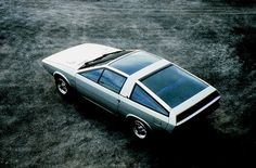Les concepts ItalDesign : Hyundai Pony Coupé (1974)