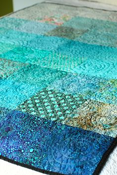 "LOVE!!! It's called ""Pooling Rain Quilt"""
