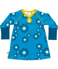647d96073776 Albababy lovely blue baby dress with retro flowers. albababy.en.emilea.be