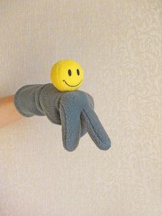 Childrens soft toys Smiley puppets 17$ in my shop #puppets #puppetsshow #childrenstoys #softtoy