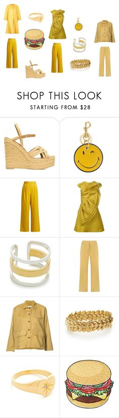 """creative"" by emmamegan-5678 ❤ liked on Polyvore featuring Yves Saint Laurent, Anya Hindmarch, TIBI, Christian Siriano, Maya Magal, EGREY, The Great, Aurélie Bidermann, Jacquie Aiche and ADAM"