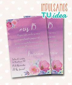 Tarjeta de 15 - Tarjeta de 15 para imprimir lila
