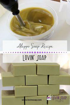 Aleppo Soap Recipe | soap making | handmade soap | Syria | laurel berry oil | laurel fruit oil | laurel soap