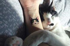 Kedi dövmeleri #tattoo #dövme