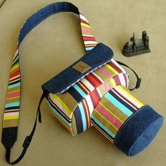Handmade DSLR SLR Camera Case Bag for Canon Nikon - Cotton DSLR Camera Case Bag