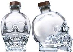 In 2007 Ghost Buster, Dan Aykroyd, conceived and founded Crystal Head Vodka. Crystal Head Vodka packaging is simple but highly attractive and oozes a. Alcohol Bottles, Liquor Bottles, Glass Bottles, Vodka Bottle, Wine Glass, Witch Bottles, Water Bottle, Potion Bottle, Empty Bottles