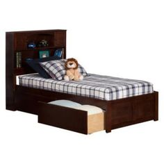 Xl Twin Bed With 6 Drawers