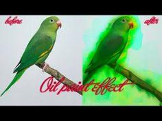 Oil effect photoshop cs6. - YouTube