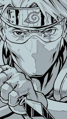 Anime Naruto, Naruto Fan Art, Anime Akatsuki, Naruto Comic, Naruto Uzumaki Shippuden, Wallpaper Naruto Shippuden, Kakashi Hatake, Manga Anime, Naruto Wallpaper Iphone