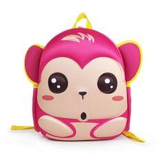 Kids Boys Girls EVA   Nylon Environmental School Bag Animal Cartoon Backpack Satchel School Book Bag, Waterproof School Bag, Christmas Gift!(Red) * Can't believe it's available, see it now : Christmas Luggage and Travel Gear