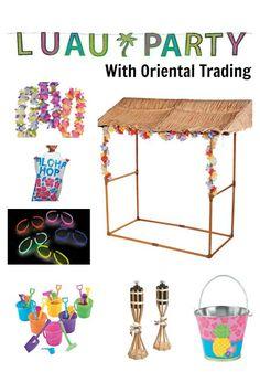 Oriental Trading Luau, Luau Party ideas, Luau Party Games, Luau Party activities, Luau for kids, Luau for adults