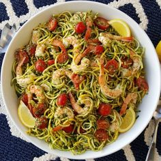 This takes 15 minutes to throw together, and it's equally great for busy weeknights, or served at the weekend BBQ's Serves 6-8 Fresh Pesto Ingredients: 2 cups fresh basil (loosely packed) 2 cloves garlic 1/3 cup fresh grated parmesan cheese Sea salt, and pepper to taste 4 Tbsps avocado oil, or...