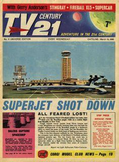 TV Century 21 issue number 8