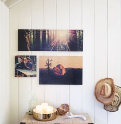 The best home decor lets your personality shine. Create a wall of art from your favorite vacation photos. Shop home decor designs for canvas prints, metal prints, wood wall art, and more at www.shutterfly.com.