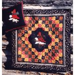 Cozy Cardinal  www.quiltwithjudy.com