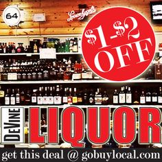 Get $1 - $2 OFF Or 10% OFF at DeVine Liquors with this great #deal! http://gobuylocal.com/offerseo/River_Falls-WI/DeVine_Liquor/3448/3634/ #liquorstore